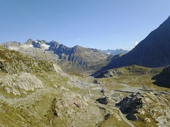 view from Steingletscher to Sustenpass Switzerland (roli_b) Tags: steingletscher steinsee sustenpass susten pass mavic pro drone drohne aerial view panoramic panorama mountains berge alps alp alpi alpine luftbild luftaufnahme steinbergli switzerland schweiz suisse suiza sivzzera dji