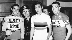 1967 Rising stars of Belgian cycling (Sallanches 1964) Tags: belgiancyclists roadcycling trackcycling 1967 worldchampionroadcycling