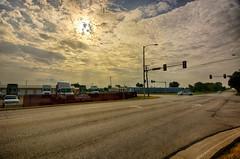A mid-August Morning (kendoman26) Tags: hdr nikhdrefexpro2 clouds sky morrisillinois nikon nikond7100 tokinaatx1228prodx tokina tokina1228