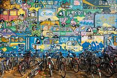 Graffiti Bahnhof Ehrenfeld (guentersimages) Tags: köln kölner kunst graffitikunst graffiti wandmalerei ehrenfeld stadt stadtteil streetart bahnhof
