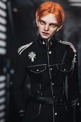 ADAW 33/52. Pure evil space ginger (╭∩╮ʕ•ᴥ•ʔ╭∩╮) Tags: balljointeddollphoto bjdphoto bjd generalhux cosplay doll abjd abjdphotography