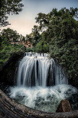 xEW7_3140-Edit_Ewald Gruescu Photographer (Ewald Photography) Tags: red nikon edessa greece vacation long exposure water river smooth sunset green nature forrest trees photography samyang fisheye