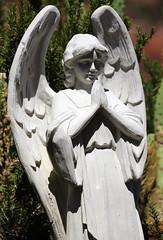 Here I Pray (ryry602) Tags: sedona arizona holycross art decor statue angel pray