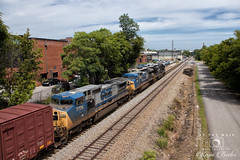 NS M6T (On The Main Rail Images by Kevin Beeler) Tags: train railroad railway knoxville ns norfolksouthern westenddistrict es44dc