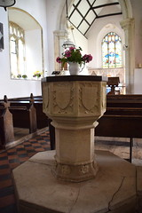 font (Simon_K) Tags: aslacton norfolk church churches eastanglia