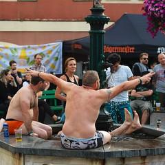 Ausschnitte Rostfest 2018 (tisi.photo) Tags: vibes goodmood brunnen fountain jägermeister bier beer hot water austria festival rostfest eisenerz steiermark österreich