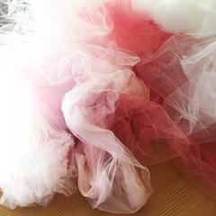 Hand-Overdyed Wedding Dress (kellyhogaboom) Tags: sewing vegantailor vegan thevegantailor homesewn handsewn bespoke bespokehogaboom knit knits knitfabrics bride wedding