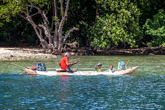 Outrigger on the Water 3283 (Ursula in Aus) Tags: jimclinephototour milnebay png papuanewguinea tawali