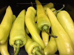 Wax Peppers (joncutrer) Tags: food produce vegetables cc0 royaltyfree cooking ingredients peppers wax spicy hot heat yellow
