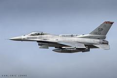 "90-0833 - USAF F-16 ""Warhawks""   SPM (Karl-Eric Lenne) Tags: f16 900833 usaf spangdahlem gemany airbase us air force banking sp 2018 august plane military"