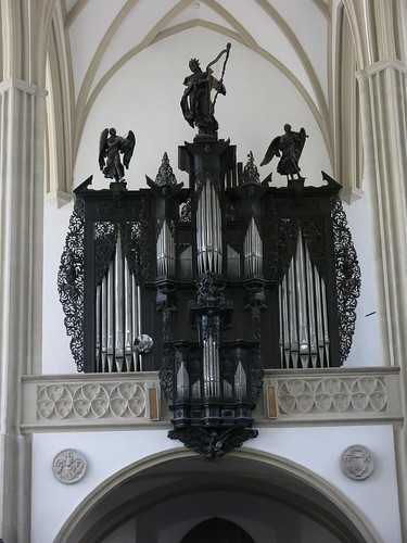Organ in the Church of St. James the Greater