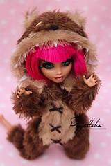 Annie (Puppet Tales Dolls) Tags: ooak ooakdoll doll repaint dollrepaint custom customization annie leagueoflegends lol annieleagueoflegends tibbers dollcustom customdoll art draw faceup makeup pinkhair kigurumi dollclothes