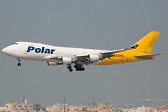 N452PA B747-400F Polar / DHL (JaffaPix +4 million views-thanks...) Tags: obbi aeroplane aircraft airplane aviation airline airliner davejefferys jaffapix jaffapixcom b747400 b747 747 b744 boeing jumbo n452pa b747400f polar po pac dhl cargo freighter