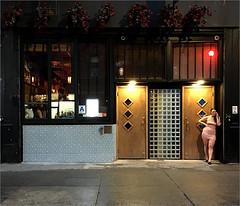 Eldridge (Chris Protopapas) Tags: iphone sidewalk newyorkcity manhattan gotham nyc street doorway voluptuous woman