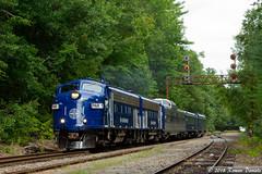 OCS at CPF-307 (Roman Daniels) Tags: par 1 panam railways fp9 ocs office car train locomotive railroad tree
