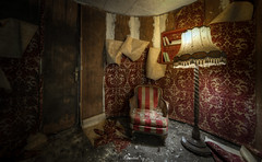 Villa Dark Pool (ravenwood.photography) Tags: abandoned decay decaying lost abandonedplaces explorer urbex creepy villa