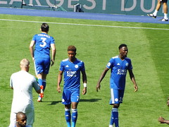 Leicester players pre match (lcfcian1) Tags: leicester city liverpool king power stadium football sport england premier league epl bpl leicestercity liverpoolfc kingpowerstadium