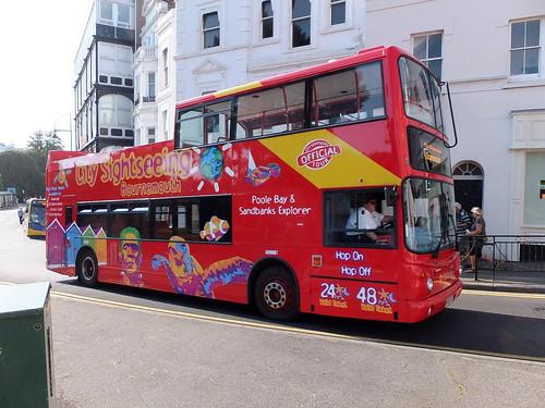 Flamboyant bus company