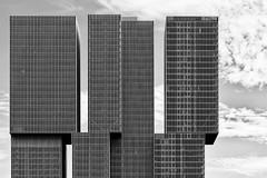 Big Lego Bricks (Leipzig_trifft_Wien) Tags: rotterdam provinzsüdholland niederlande nl building tower high three skyscraper facade urban architecture blackandwhite bnw black white contrast lego