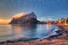 Calpe Sunrise (hapulcu) Tags: calp calpe espagne espanha españa ispanya mediterranean spagna spain valencia winter