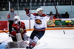 Nicolas Kingsbury-Fournier's overtime winner (DeWhit Photography) Tags: monctonwildcats wildcats qmjhl lhjmq chl hockey hockeyphotography canon canonsports sportsphotography