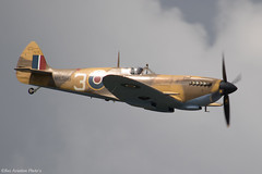 MK356 2508ii copy (Baz Aviation Photo's) Tags: mk356 supermarine spitfire lf mkixc royalairforce bbmf dunsfold wingswheels