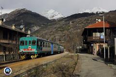 ALn 663-1002 (Treni In Foto) Tags: aln 663 treno regionale livrea xmpr linea ferroviaria aosta prè saint didier la salle