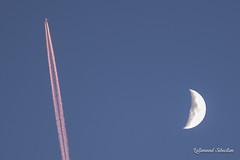 La Lune a pris l'avion