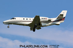 N618QS (PHLAIRLINE.COM) Tags: philadelphiainternationalairport kphl phl bizjet spotting spotter airline generalaviation planes flight airlines philly