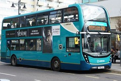 """Arriva Southern Counties Route 310 - 6496 - """"VENOM"""" (Local Bus Driver) Tags: dennis alexander trident arriva southern counties route 310 6496 venom db marvel"""