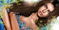 Deborah (meriluu17) Tags: monso skinnery foxcity arte blue brunette closeup portrait girl sexy sensual people