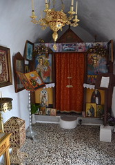 Greece (mademoisellelapiquante) Tags: greece europe crete drapanos graveyard graves cemetery ikon icon greekorthodox orthodox art religiousart