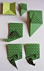 Shall we play with the  Chameleon ? (Viviane des Papiers) Tags: vivianeberty chameleon caméléon origami