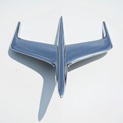 Mercury Montclair hood ornament (designwallah) Tags: canada vintageautomobile beeton olympusm1240mmf28 ontario hoodornament mercurymontclair olympusomdem5markii vehicles