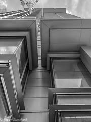 The Ritz-Carlton - Monochrome (Shawn Blanchard) Tags: ritz carlton monochrome black white bw building blackandwhite hotel sky clouds architecture charlotte north carolina nc