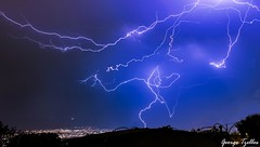 Thunderstorm (George_Tzellos) Tags: thunderstorm lightning landscape nightscape storm