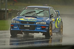 Subaru at a very wet Rallyday .. (569 Motorsports Media) Tags: rallyday rallyday2018