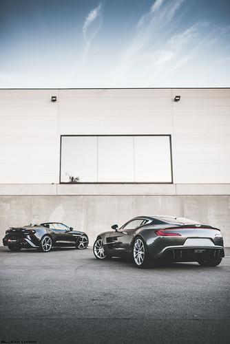 Aston Martin One 77 + Vanquish Zagato Volante