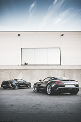 Aston Martin One 77 + Vanquish Zagato Volante (loysonsian) Tags: astonmartin astonmartinone77 one77 automotive automotivephotography car cars motorsportphotography iamnikon nikon nikond750