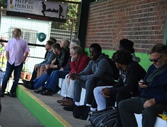 Waltham Abbey v Bury Town Aug 2018 (Bury Gardener) Tags: burytown burystedmunds walthamabbey essex england uk britain football english englishfootball isthmianfootballleague nonleague fac facup streetphotography street streetcandids strangers candid candids people peoplewatching folks