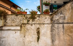 old wall of a house in Sorrento (Maxim Baskov) Tags: old wall house italy travel europe sorento summer vacation