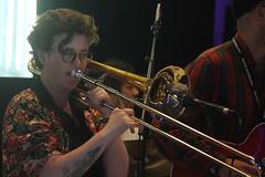 Op Sa! (2018) 08 (KM's Live Music shots) Tags: greatbritain trombone worldmusic brassband southbankcentre opsa balkanmusic meltdownfestival fridaytonic