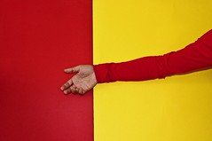 Red Yellow influence (marcus.greco) Tags: red yellow influence colors conceptual selfportrait hand portrait surreal