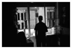 dream drinking (MarcoBertarelli) Tags: monochrome monochromatic man moment silouette contrast life street photography close