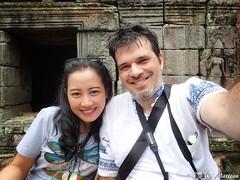 Sreyphea et Moi (clamato39) Tags: cambodge cambodia travel trip voyage selfie autoportrait love amour femme woman