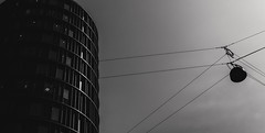 The Tower (ALGHIME) Tags: bnw blackandwhite black white grey monochrome monochromatic building architecture sky lines line bw