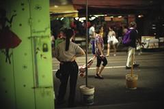 """On duty II"" (jaxting) Tags: jaxting northpoint 香港 hk hongkong street people candid noctilux leica"