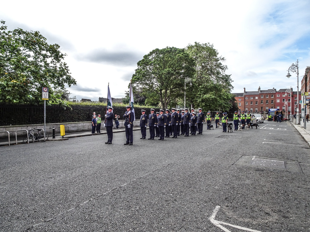 NATIONAL SERVICES DAY [PARADE STARTED OFF FROM NORTH PARNELL SQUARE]-143556