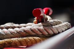 rope (Lisa Weigel) Tags: port rope boat tied