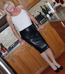 Loving my leather skirt - 1 (donnacd) Tags: sissy tgirl tgurl dressing crossdress crossdresser cd travesti transgenre xdresser crossdressing feminization tranny tv ts feminized jumpsuit domina blouse satin lingerie touchy feely he she look 易装癖 シー